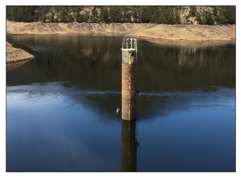 Dungowan hydroelectric project will be developed near the existing 6.4ML Dungowan Dam. Credit: Walcha Energy.