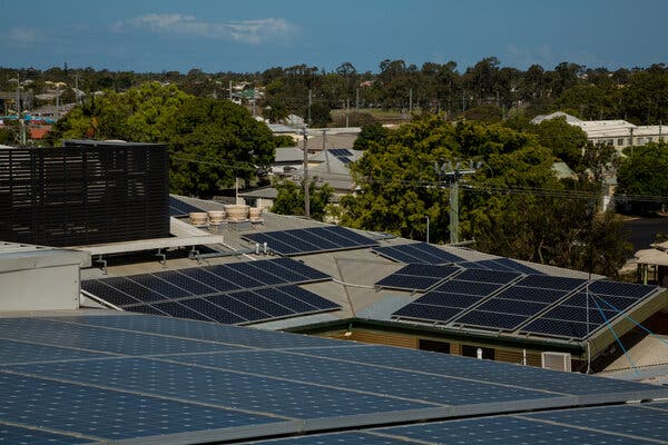 The Friendly Society Private Hospital in Bundaberg installed solar panels to help offset the rising cost of electricity. The panels generate about half of the energy the hospital uses.