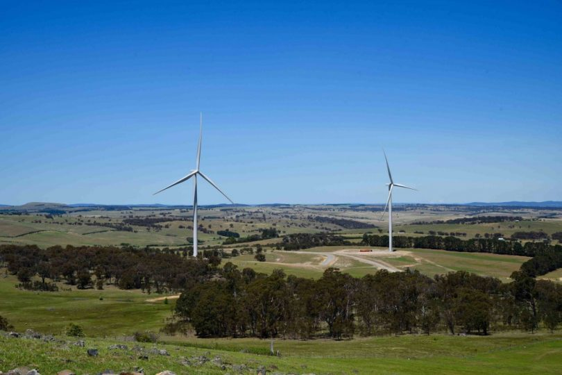 Crookwell 2 Wind Farm.