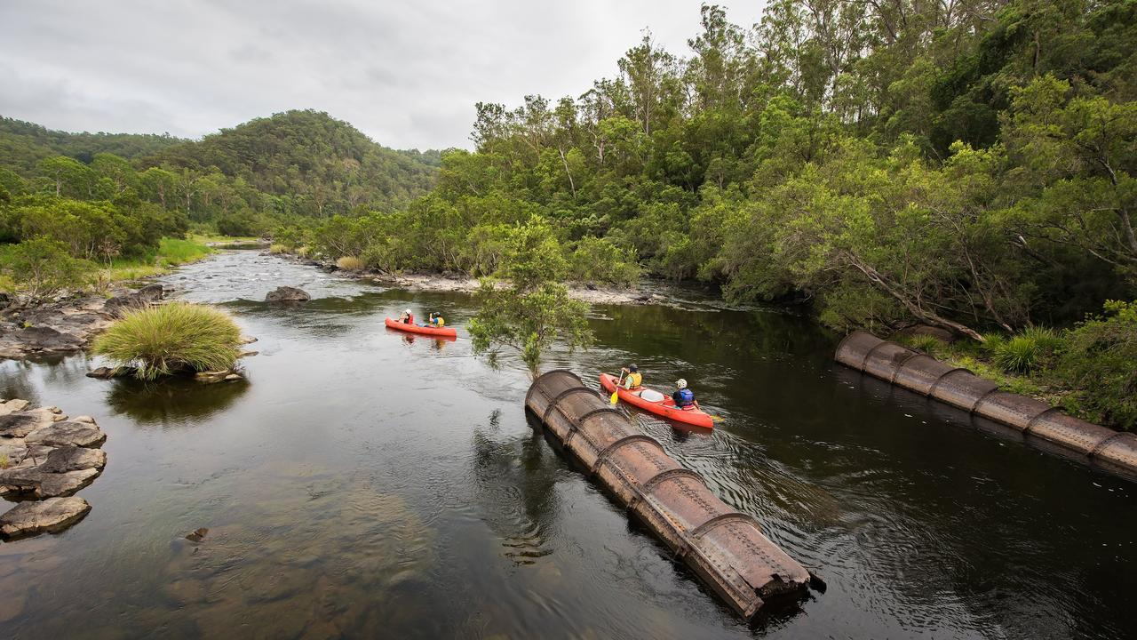 The Nymboida River is integral to the Coffs Harbour and Clarence Valley Water Supply Scheme.