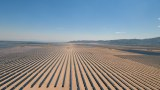 A solar power plant in Mexico covers an area the size of 40 football fields